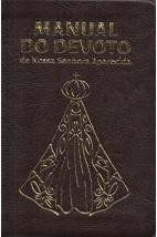 Manual do Devoto de Nossa Senhora Aparecida - Luxo Marrom