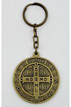 Chaveiro - Medalha São Bento - 10 cm - Metal