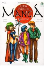 Curso Prático de Mangá Passo a Passo -Casais-Robôs-Terror-Retículas - Vol.5