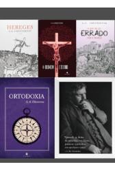 KIT - Mais do melhor de Chesterton (4 Livros + Quadro)